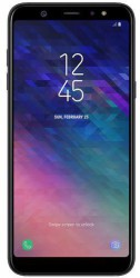 Samsung Galaxy A6 Plus voorkant