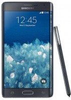 Samsung Galaxy Note Edge zijkant